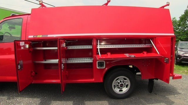 2019 Savana 3500 4x2,  Reading Aluminum CSV Service Utility Van #Q59048 - photo 8