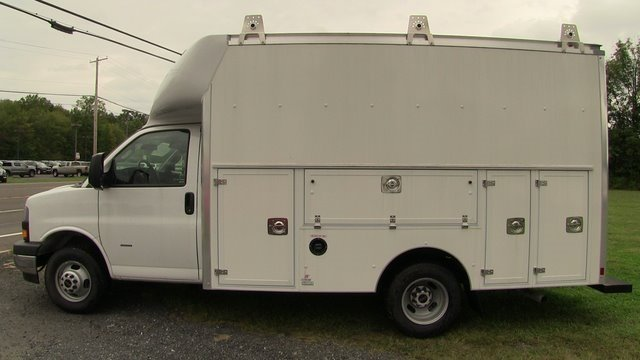 2019 Savana 3500 4x2,  Supreme Spartan Service Utility Van #Q59095 - photo 5