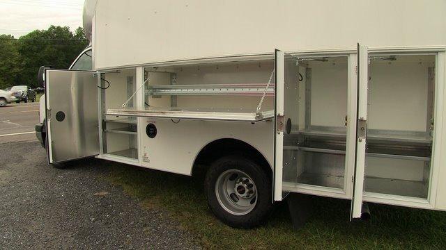 2019 Savana 3500 4x2,  Supreme Spartan Service Utility Van #Q59095 - photo 10