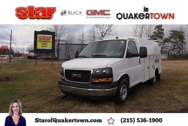 2019 GMC Savana 3500 4x2, Reading Service Utility Van #Q59112 - photo 1