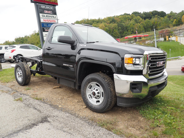 2016 Sierra 2500 Regular Cab 4x4, Cab Chassis #G16881 - photo 4