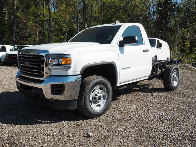 2016 Sierra 2500 Regular Cab 4x4, Cab Chassis #G16882 - photo 4
