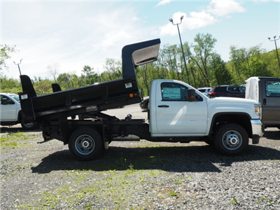 2017 Sierra 3500 Regular Cab, Rugby Z-Spec Dump Body #G17760 - photo 3