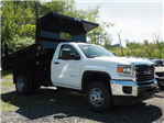 2017 Sierra 3500 Regular Cab, Rugby Z-Spec Dump Body #G17760 - photo 4