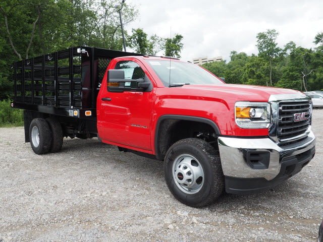 2017 Sierra 3500 Regular Cab, Knapheide Stake Bed #G17812 - photo 3