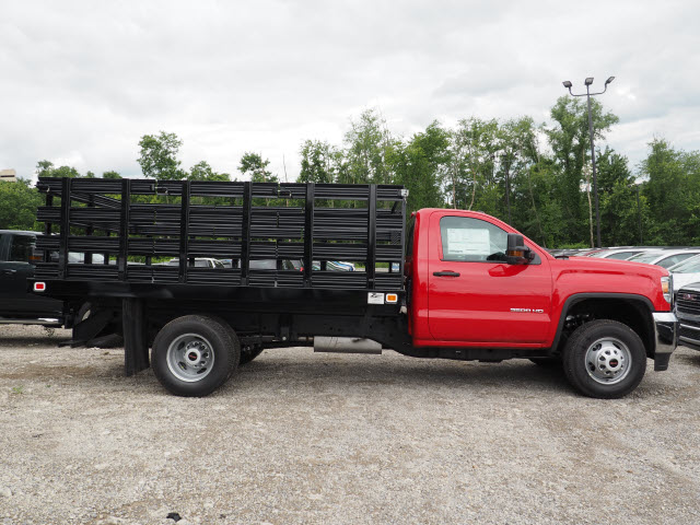 2017 Sierra 3500 Regular Cab, Knapheide Stake Bed #G17812 - photo 4
