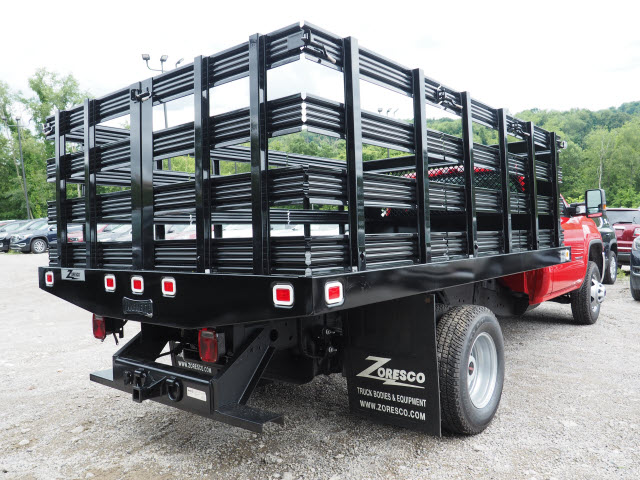 2017 Sierra 3500 Regular Cab, Knapheide Stake Bed #G17812 - photo 2