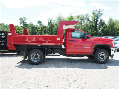 2017 Sierra 3500 Regular Cab, Rugby Z-Spec Dump Body #G17842 - photo 4