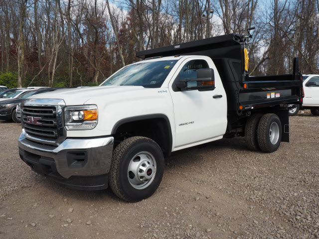 2016 Sierra 3500 Regular Cab 4x4, Dump Body #GT16946 - photo 4