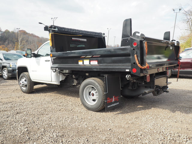 2016 Sierra 3500 Regular Cab 4x4, Dump Body #GT16946 - photo 6