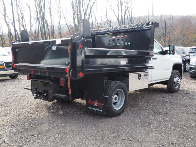 2016 Sierra 3500 Regular Cab 4x4, Dump Body #GT16946 - photo 2