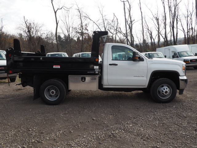 2016 Sierra 3500 Regular Cab 4x4, Dump Body #GT16946 - photo 8