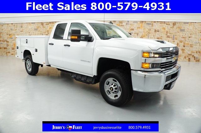 2017 Silverado 2500 Double Cab 4x4 Service Body #HZ372326 - photo 1
