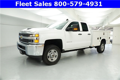 2017 Silverado 2500 Double Cab 4x4 Service Body #HZ372326 - photo 3