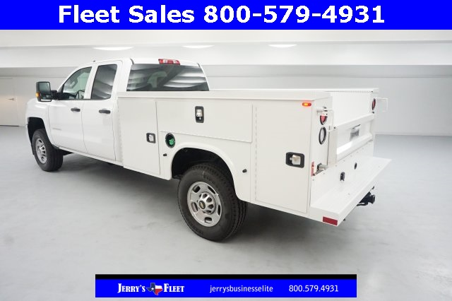 2017 Silverado 2500 Double Cab 4x4, Service Body #HZ375522 - photo 2