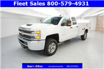 2017 Silverado 2500 Double Cab 4x4, Service Body #HZ375522 - photo 3