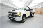 2018 Silverado 3500 Regular Cab DRW 4x4, Platform Body #JF124954 - photo 1