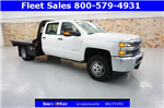 2018 Silverado 3500 Crew Cab DRW, Platform Body #JF147799 - photo 1
