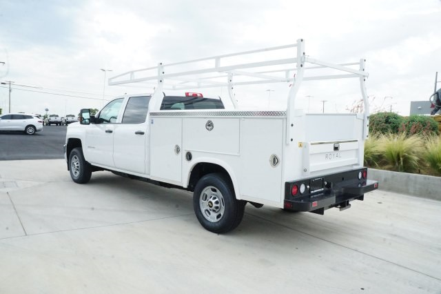 2018 Silverado 2500 Crew Cab,  Royal Service Bodies Service Body #JF256276 - photo 2