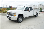 2018 Silverado 2500 Crew Cab,  Royal Service Bodies Service Body #JF256276 - photo 4