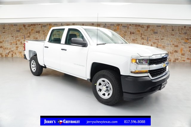 2018 Silverado 1500 Crew Cab 4x4,  Pickup #JG400048 - photo 1