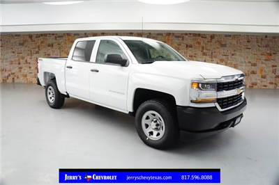 2018 Silverado 1500 Crew Cab 4x4,  Pickup #JG430294 - photo 1