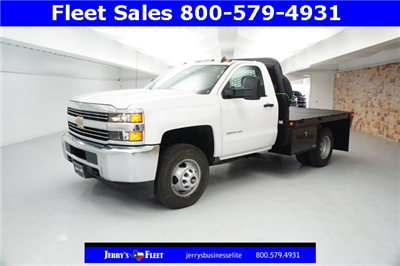 2018 Silverado 3500 Regular Cab DRW, Platform Body #JZ237568 - photo 3