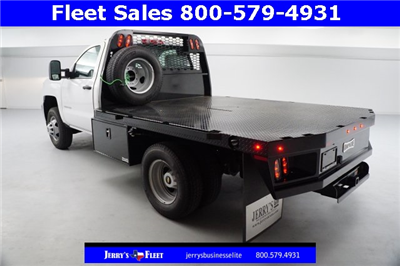 2018 Silverado 3500 Regular Cab DRW, Platform Body #JZ237568 - photo 4
