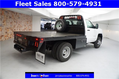 2018 Silverado 3500 Regular Cab DRW, Platform Body #JZ237568 - photo 2