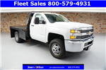 2018 Silverado 3500 Regular Cab DRW, Platform Body #JZ237568 - photo 1