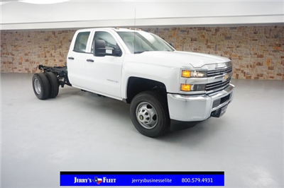 2018 Silverado 3500 Double Cab 4x2,  Cab Chassis #JZ338839 - photo 1