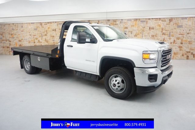 2019 Sierra 3500 Regular Cab DRW 4x2,  Platform Body #KF101079 - photo 1