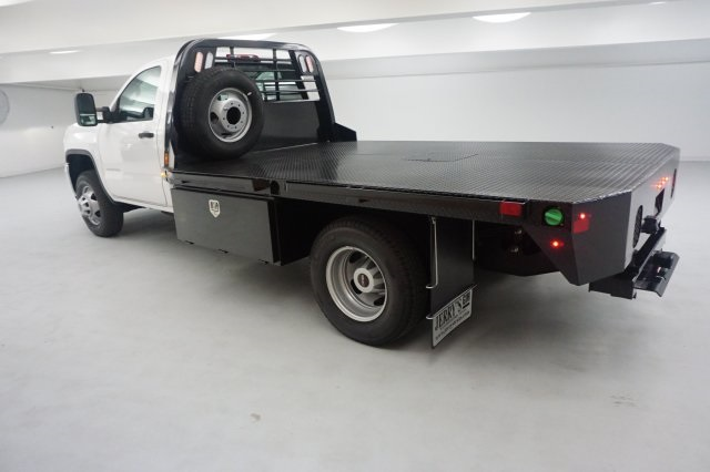 2019 Sierra 3500 Regular Cab DRW 4x2,  CM Truck Beds Platform Body #KF101079 - photo 2