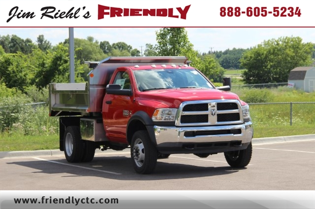 2017 Ram 5500 Regular Cab DRW 4x4, Dump Body #L17D737 - photo 1