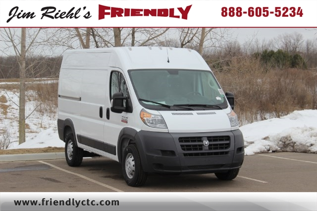 2018 ProMaster 1500 High Roof, Cargo Van #L18A027 - photo 1