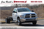 2018 Ram 3500 Regular Cab DRW 4x4,  Cab Chassis #L18D407 - photo 1