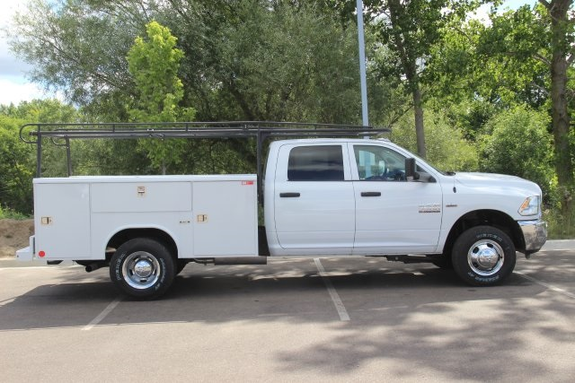 2018 Ram 3500 Crew Cab DRW 4x4,  Reading Service Body #L18D808 - photo 10