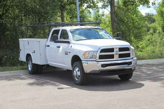 2018 Ram 3500 Crew Cab DRW 4x4,  Reading Classic II Steel Service Body #L18D808 - photo 1