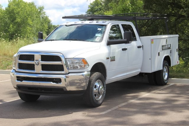 2018 Ram 3500 Crew Cab DRW 4x4,  Reading Service Body #L18D808 - photo 4