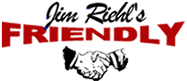 Jim Riehl's Friendly Dodge logo