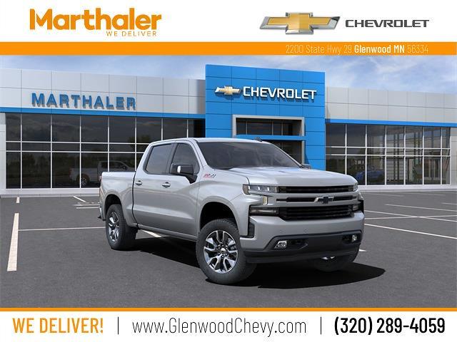 2021 Chevrolet Silverado 1500 Crew Cab 4x4, Pickup #210523 - photo 1