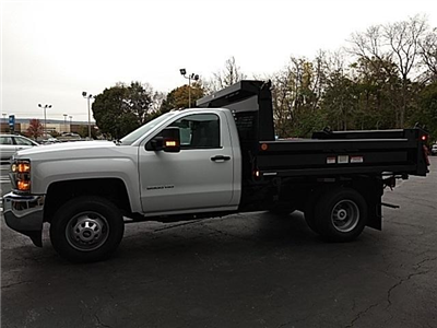 2017 Silverado 3500 Regular Cab DRW 4x4,  Reading Marauder Standard Duty Dump Dump Body #170881 - photo 6