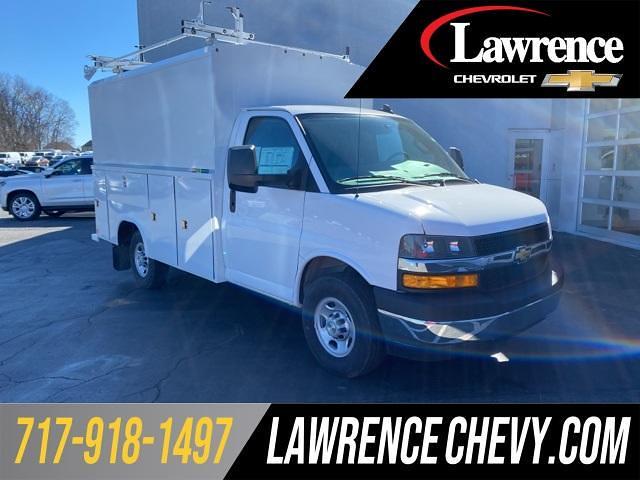 2021 Chevrolet Express 3500 4x2, Reading Service Utility Van #210562 - photo 1