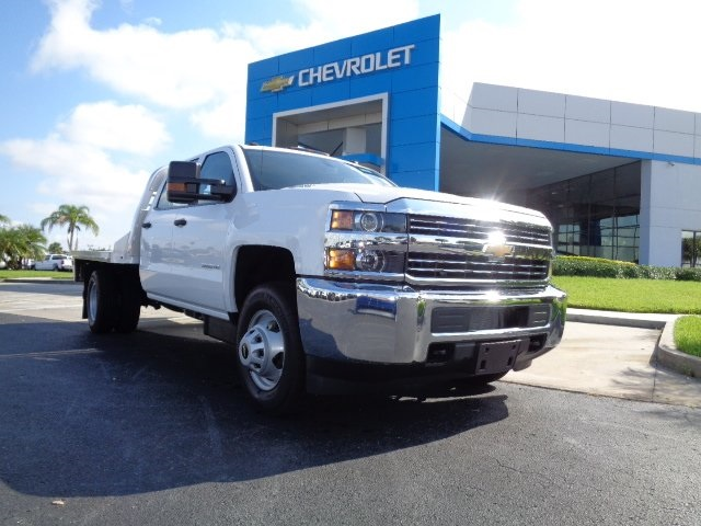 2016 Silverado 3500 Crew Cab 4x4, CM Truck Beds Platform Body #N6747 - photo 21