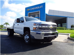 2016 Silverado 3500 Crew Cab 4x4, CM Truck Beds Platform Body #N6747 - photo 1