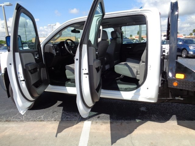 2016 Silverado 3500 Crew Cab 4x4, CM Truck Beds Platform Body #N6755 - photo 14