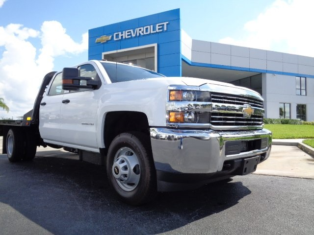 2016 Silverado 3500 Crew Cab 4x4, CM Truck Beds Platform Body #N6755 - photo 22