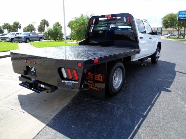 2016 Silverado 3500 Crew Cab 4x4, CM Truck Beds Platform Body #N6755 - photo 2