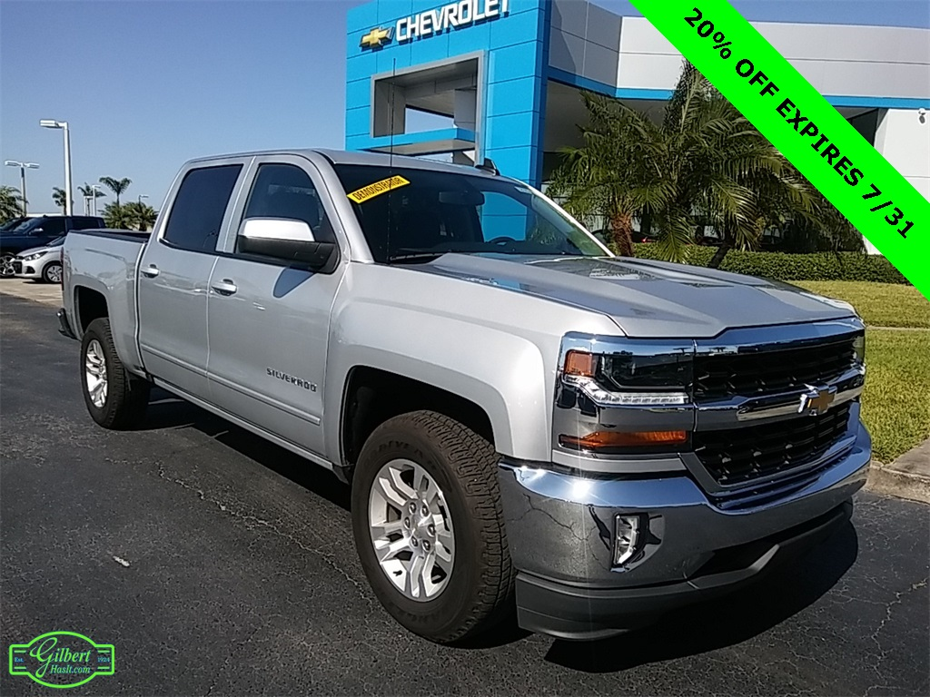 2018 Silverado 1500 Crew Cab,  Pickup #N8115 - photo 1