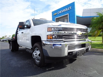 2018 Silverado 3500 Crew Cab DRW 4x4, CM Truck Beds RD Model Platform Body #N8146 - photo 1